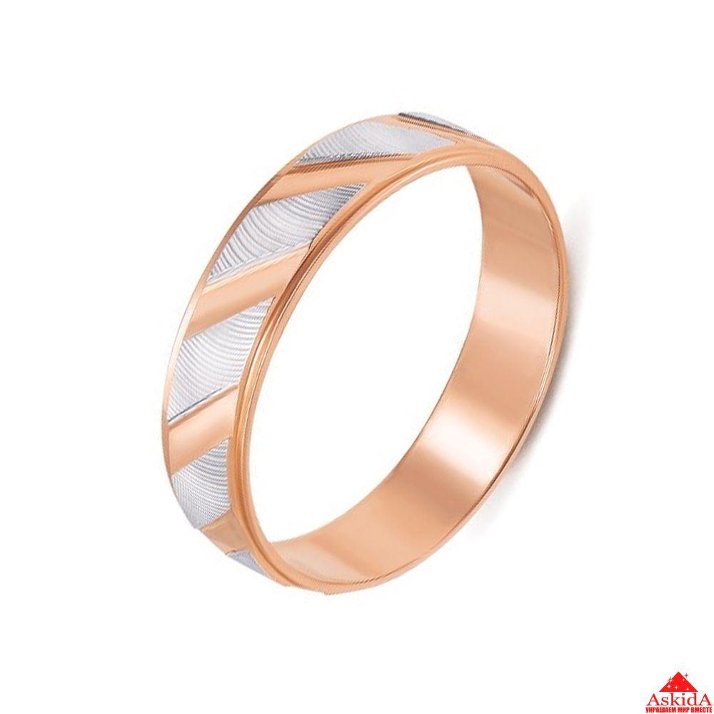 Кольцо обручальное со вставками   АскидА   Купить Кольцо обручальное ... 308d51405dc