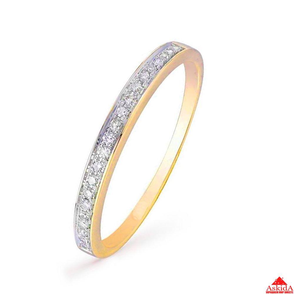 Женское золотое кольцо с бриллиантами (00499)   АскидА   Купить ... d3656d15574
