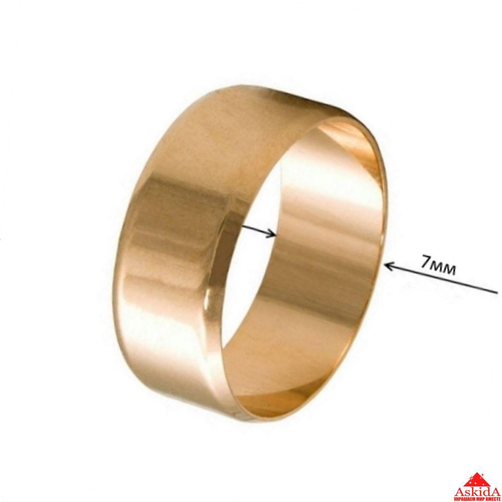 52a66c4548b6 Обручальное кольцо Американка 7 мм - арт. 970188645   АскидА ...