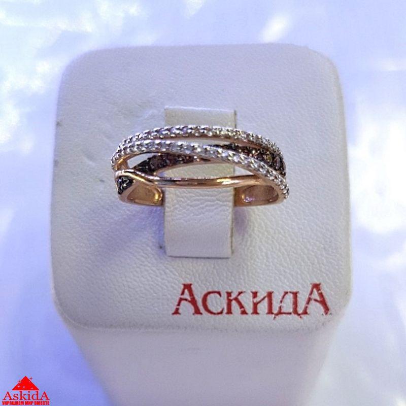 Золотое кольцо переплетенное - 970197242   АскидА   Купить Золотое ... 762cf954571