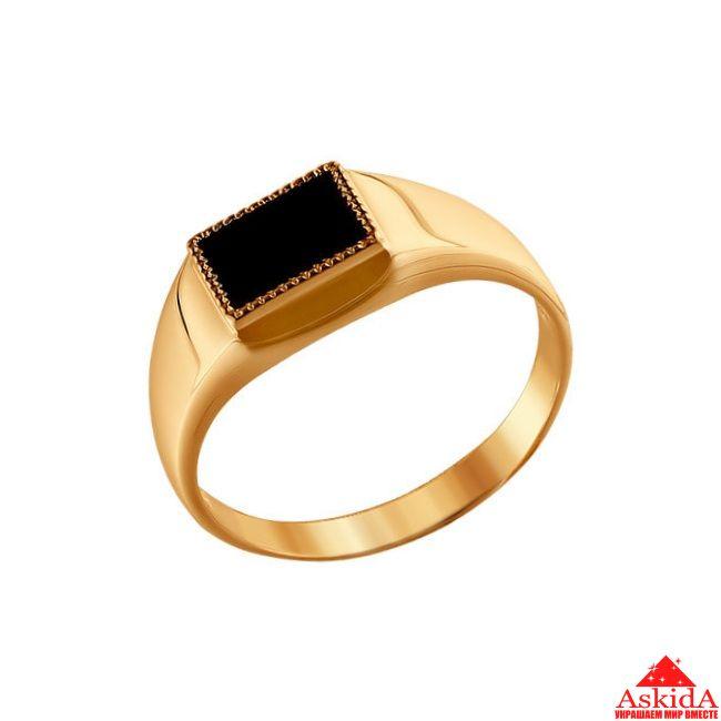 Мужское кольцо Черный принц   АскидА   Купить Мужское кольцо Черный ... 7c13c83d154