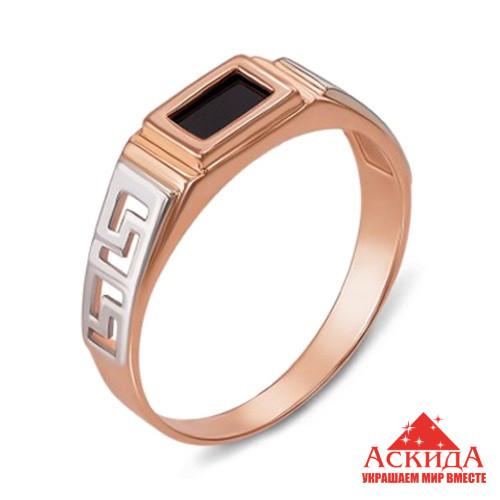 Мужское золотое кольцо с бриллиантом +(видео)   АскидА   Купить ... b870665b174