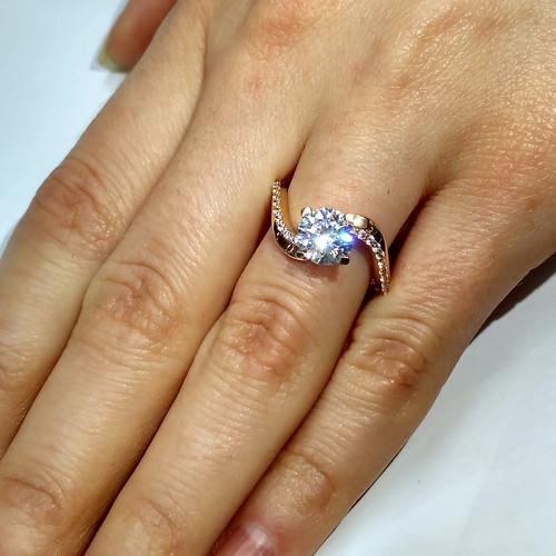 Кольцо помолвочное - 970115650   АскидА   Купить Кольцо помолвочное ... 87fc9c32e2d